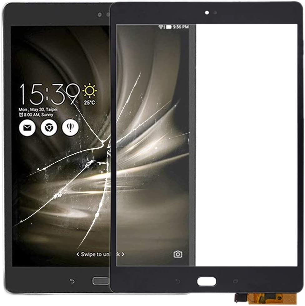 ASUS Repuesto Panel táctil for ASUS ZenPad 3S 10 Z500KL ZT500KL P001 ASUS Repuesto (Color : Black)