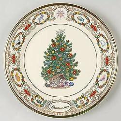 lenox christmas around the world mexico 1999 tree plate