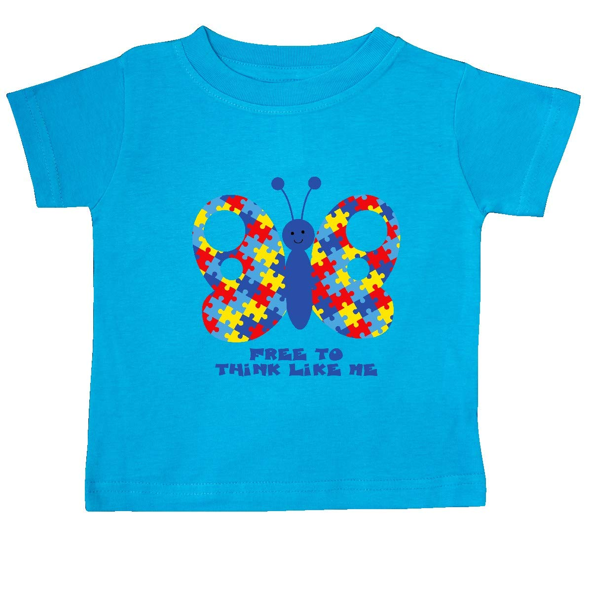 inktastic Autism Butterfly Baby T-Shirt