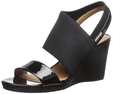 3550fd508a Amazon.com | Calvin Klein Women's Bryley Wedge Sandal | Platforms ...