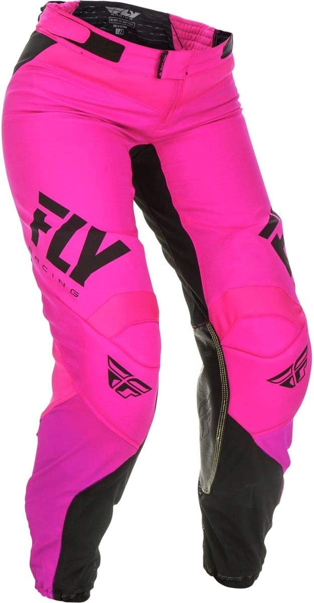 Fly Racing Girls Cross Hose Lite Neonpink//Schwarz