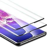 ESR Protector de Pantalla para Samsung Galaxy S10 [2 Piezas], Protector de Pantalla de Vidrio Templado [Protección 3D Completa] [Cobertura Total de la Pantalla], para Samsung Galaxy S10 (2019)