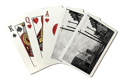 Amazon Com Sumas Washington A Street Scene Playing Card Deck