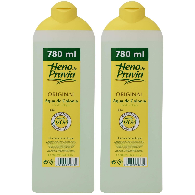 Heno De Pravia Original Agua De Colonia 26.4 fl oz (Pack of 2)