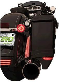 Amazon Com Saddlebag Filler Panel Lights Black For Harley