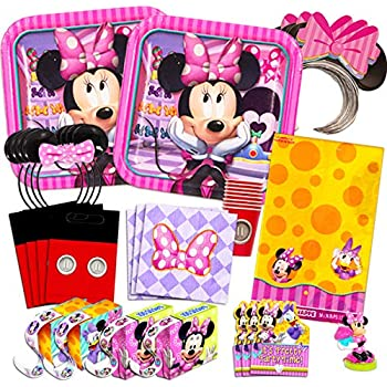 Amazon.com: Minnie Mouse Happy Helpers Birthday Party ...