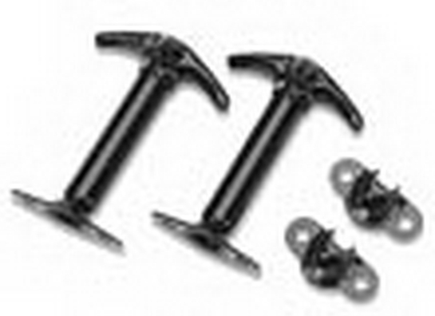 Bestop 51291-01 Replacement Black Hood Latch Kit