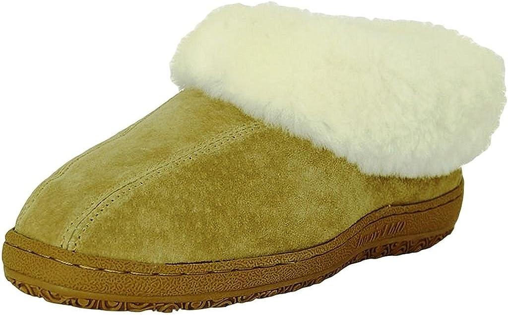 Old Friend Slippers Womens Sheepskin Juliet 10 Chestnut 441144