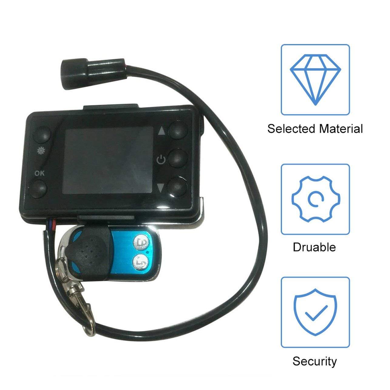 5KW universale per riscaldatore ad aria per pista 24V 3 WOSOYES/® Regolatore per riscaldatore di parcheggio per monitor riscaldatore per auto monitor LCD 12V
