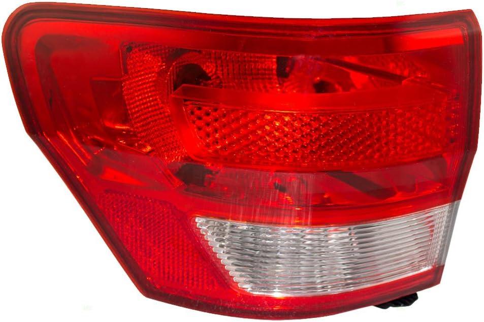 11-13 Jeep Grand Cherokee Rear Drivers Side Tail Light Lamp Assembly MOPAR OEM