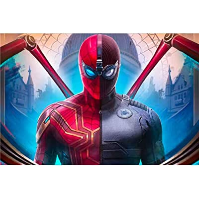 WZJ-Puzzle Good and Evil Reversible Spider-Man Wooden Puzzle-Creative Children's Educational Toy, Holiday Birthday Creative Gift (Color : A, Size : 1000pcs): Toys & Games