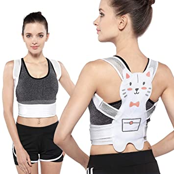 43aa0e8ee23cf Premium Posture Corrector for Women Girls Back Corrector Under Clothes by  ROSERAIN Lemon Tree -Scoliosis