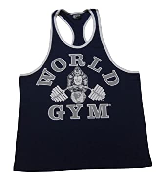 f3fcfdcabc550 Amazon.com  World Gym Ringer Tank Top  Clothing