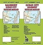 Ocean City / Salisbury / South East Maryland, Maryland Street Map