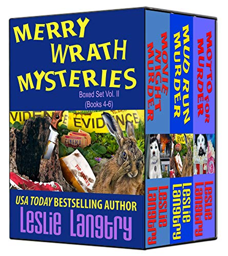 Merry Wrath Mysteries Boxed Set Vol. II (Books 4-6) by [Langtry, Leslie]