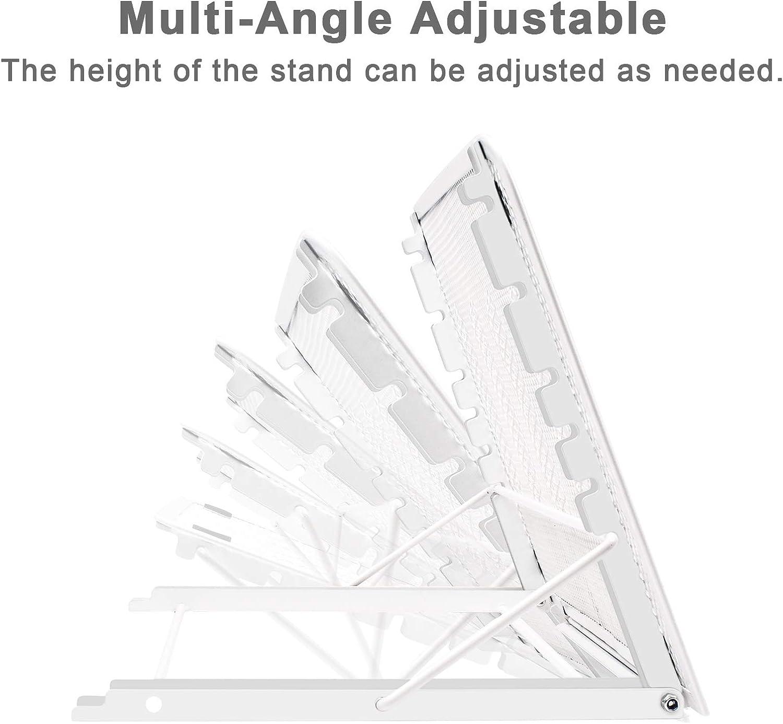 KENTING Light Box Pad Stand Nero Multifunzione 7 Punti di Angolo Skidding Supporto di tracciamento preventiva per Huion Laptop LED Light Table A4 LB4 L4S e la Maggior Parte di tracciato