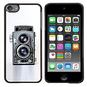 TECHCASE---Cubierta de la caja de protección para la piel dura ** Apple iPod Touch 6 6th Touch6 ** --Cámara retra de la vendimia Tecnología Arte Fotografico
