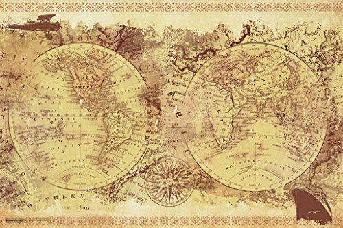 Malcolm watson vintage collage world map old world be an explorer of malcolm watson vintage collage world map old world gumiabroncs Choice Image