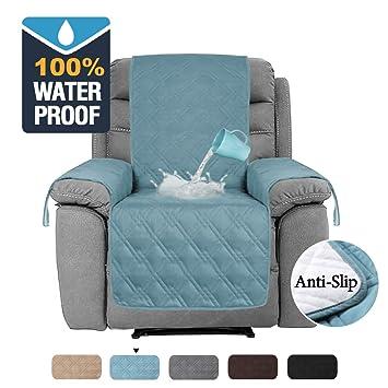 Enjoyable H Versailtex 100 Waterproof Recliner Chair Covers For Leather Anti Slip Furniture Protector Furniture Protectors For Recliners Protect From Creativecarmelina Interior Chair Design Creativecarmelinacom