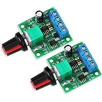 WayinTop 2pcs PWM Controlador de Velocidad del Motor