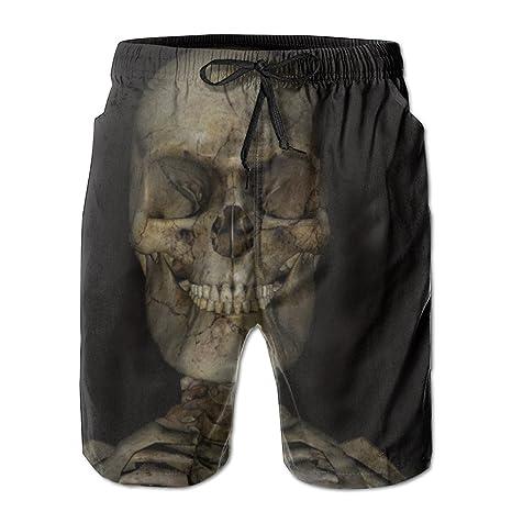 110c7d4412 Men's Skeleton Skull Board Shorts Swim Trunks: Amazon.ca: Clothing &  Accessories