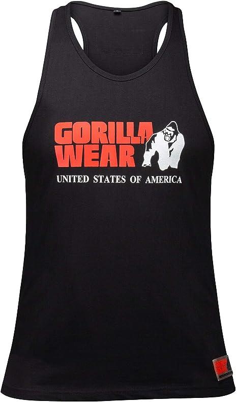 Gorilla Wear Logo Stringer Tank Top black Sale