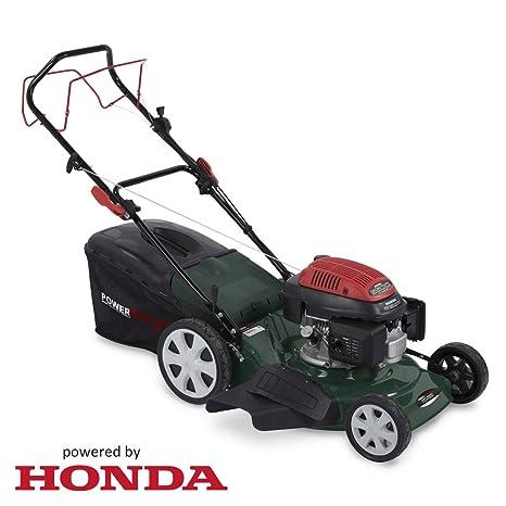 Powerplus 502 mm, Potente 160 CC 4 Tiempos Motor Honda Gasolina cortacésped de Acero Todos