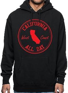 CaliDesign Mens Crenshaw Hoodie LA Clothing Slauson OG Cholo Chicano Hooded Sweatshirt