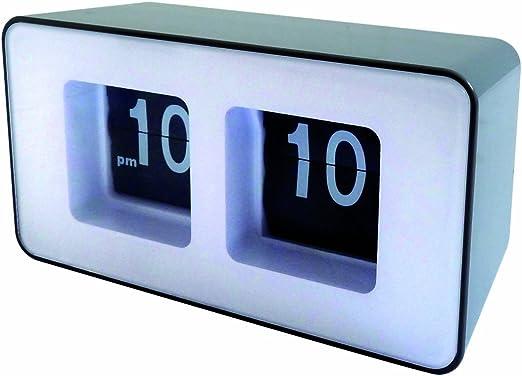 Orium 11426 - Reloj digital de mesa, diseño moderno, colores negro ...