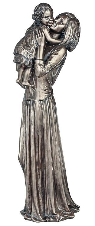 Mutter Und Kind Wonderful Kalt Gegossen Bronze Skulptur Und