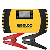 GOOLOO 1000A Car Jump Starter (up to 7.0L Gas, 5.5L Diesel Engine) Heavy Duty 12V 20800mAh Portable Phone Power Bank Auto Battery Charger Pack Booster Built-in LED Light and Smart Protection