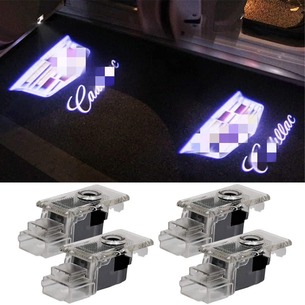 Car LED Door Logo Lights Projector 3D Ghost Shadow Lights for ...