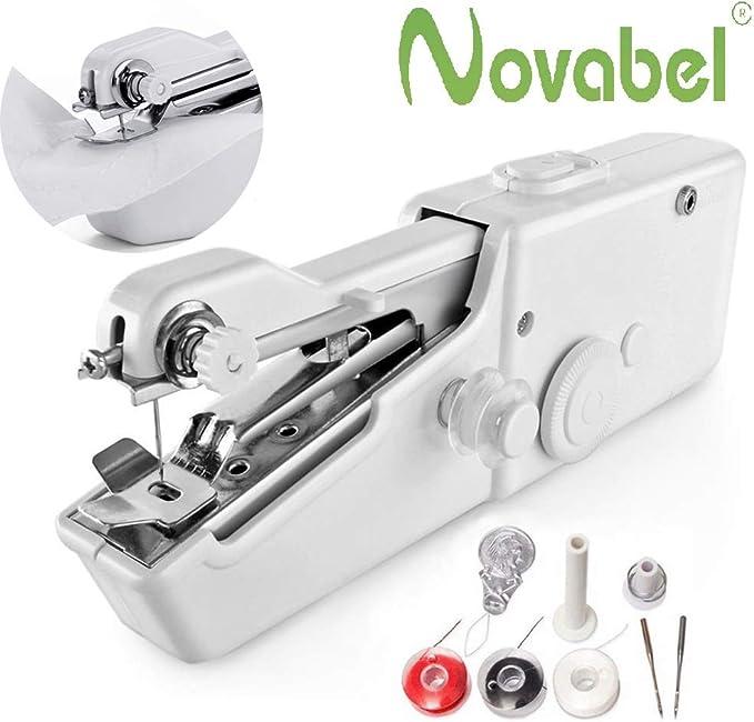 Novabel Maquina de Coser Portátil- Máquina de Coser Fácil de Usar ...