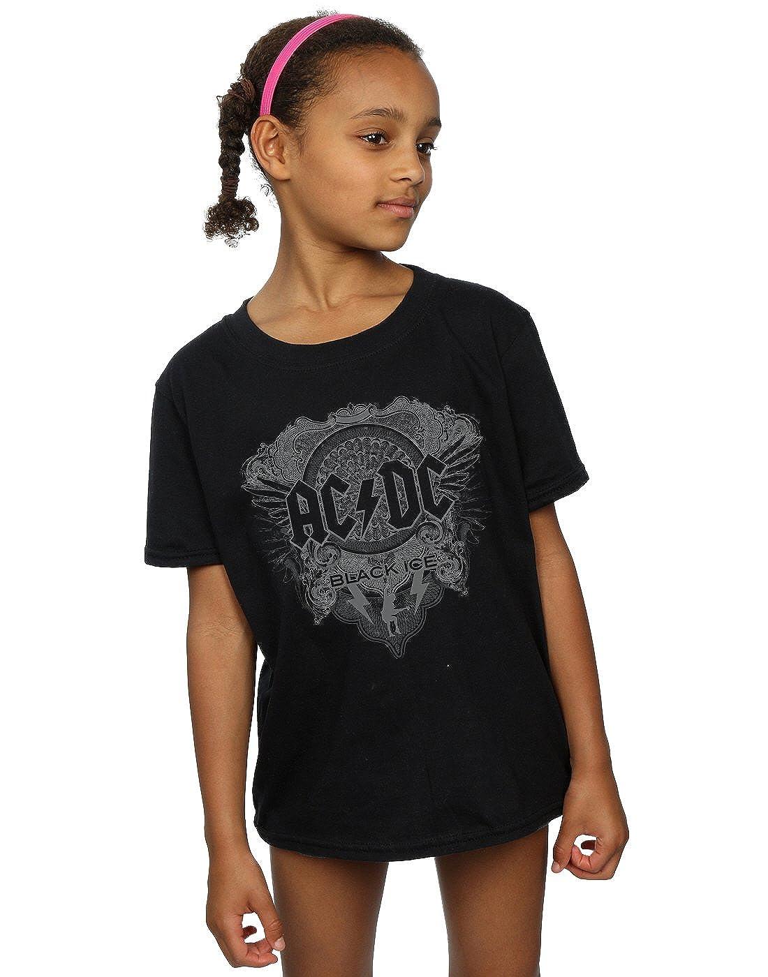 AC/DC Girls Black Ice T-Shirt Absolute Cult