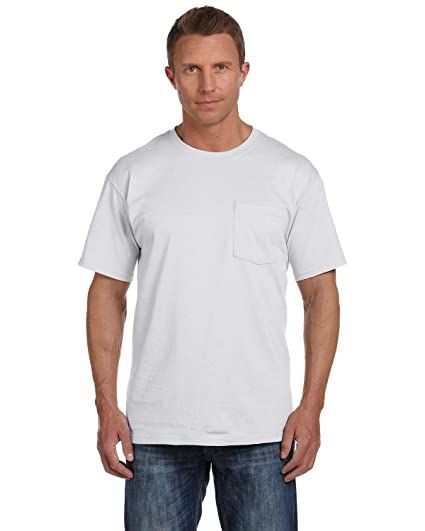 8894d3f2 Fruit of the Loom Men's Heavy Cotton HD T-Shirt with Pocket | Amazon.com