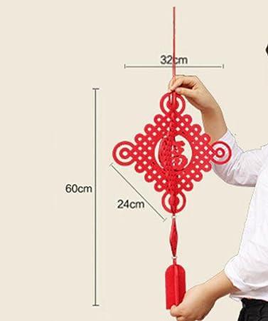 Chinesische Knoten Decke Segen Wort Dreidimensionalen Chinesischen ...