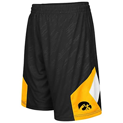 Youth NCAA Iowa Hawkeyes Basketball Shorts (Team Color)