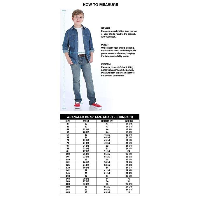 Wrangler Authentics Boys Athletic Fit Jean