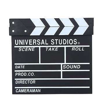 Vbestlife Director de Madera Claqueta Escena Cine TV Tablero ...