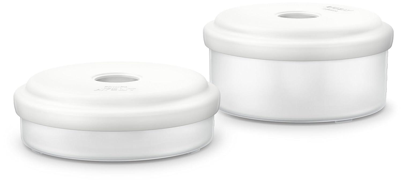 Philips Avent SCF876/02 Babynahrung Aufbewahrungsbehälter, weiß weiß