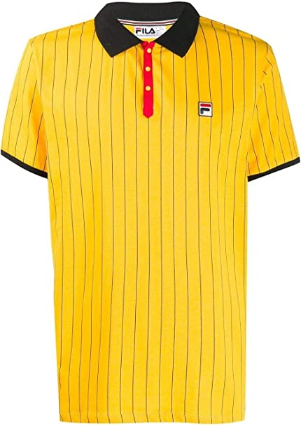 Fila Luxury Fashion Hombre 684386L25O Amarillo Polo | Temporada ...