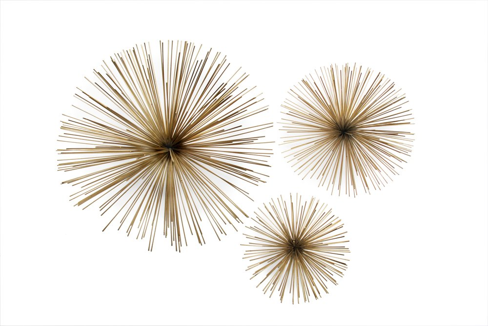 Amazon.com: Two\'s Company Wall Flowers, Set of 3: Home & Kitchen
