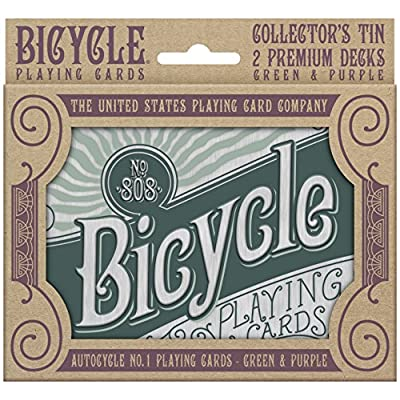 Bicycle Retro Playing Card Gift Set: Sports & Outdoors