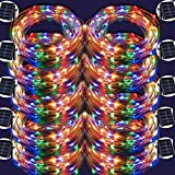 LED String Lights,100 LED Copper Wire Fairy Blinking Twinkle Starry Waterproof Tree Outdoor Yard Patio Garden And For Holiday Christmas Party Wedding Decorative Light Colorful 10PACK