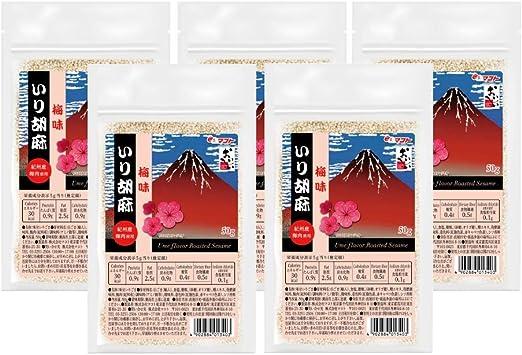 マコト 梅味 いり胡麻 50g ×10個