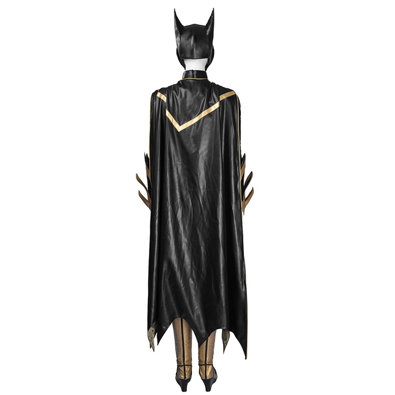 QWEASZER Batman Arkham Knight Batgirl Disfraz Mujer Adulto ...