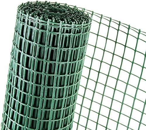 15 m² plástico Valla 0,5 m Altura X 30 M Longitud Malla de 40 mm de ganso de aves Valla Verde: Amazon.es: Jardín