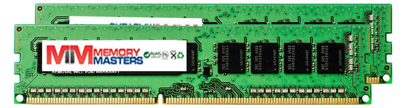 4GB 2X2GB RAM Memory Compatible for Z Series Workstations Z600 Workstation (FM023UT) MemoryMasters Memory Module 240pin PC3-12800 1600MHz DDR3 ECC UDIMM Upgrade by MemoryMasters