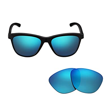 a104c29b8c9d9 Polarized OO9320 Replacement Sunglasses Lenses for Oakley Moonlighter UV  Protection Blue 06