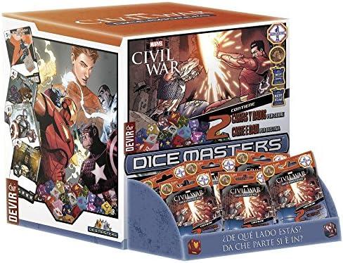 Devir- Civil War Dice Master Juego de Mesa (BGDMCWBT): Amazon.es: Juguetes y juegos